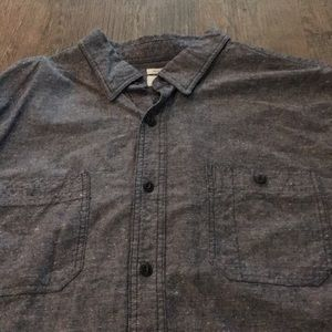 Old Navy Shirts - Men's Navy Blue Button Down Shirt XL